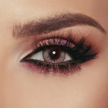 Buy Bella Caramel Gray Contact Lenses - Glow Collection - lenspk.com
