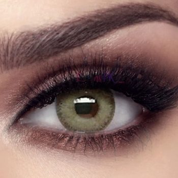 Buy Bella Gray Olive Contact Lenses - Elite Collection - lenspk.com