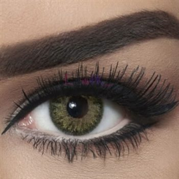 Buy Bella Natural Green Yellow Contact Lenses - lenspk.com