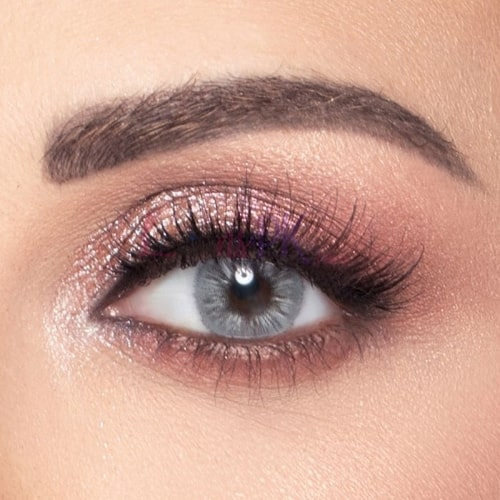 Amara Olive Gray Eye Contact Lenses