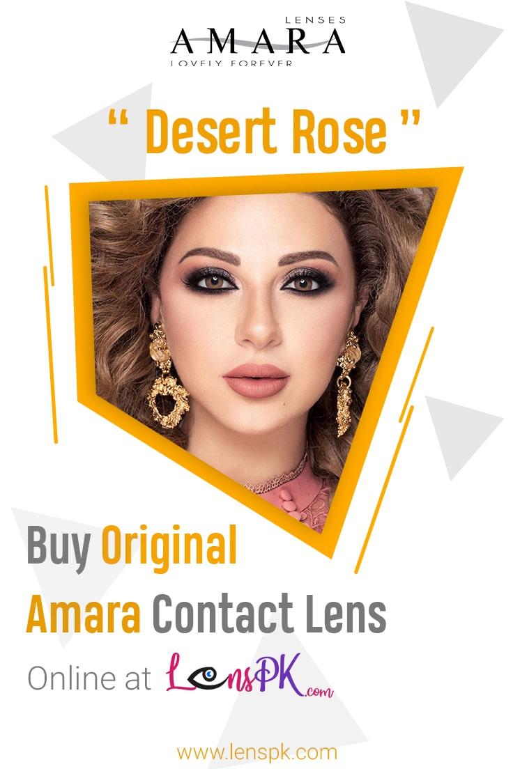 Amara Desert Rose Eye Contact Lenses