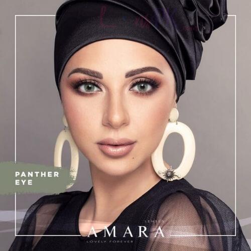 Buy Amara Panther Eye Contact Lenses in Pakistan @ Lenspk.com