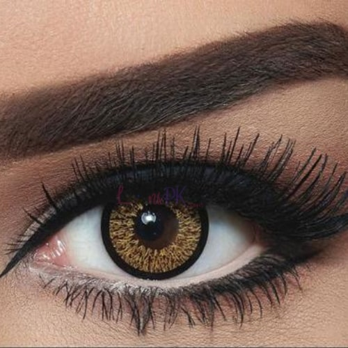 Bella Highlight Cool Hazel Contact Lenses