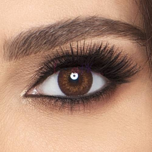 Buy Freshlook Brown Contact Lenses - Colorblends Collection - Lenspk.com