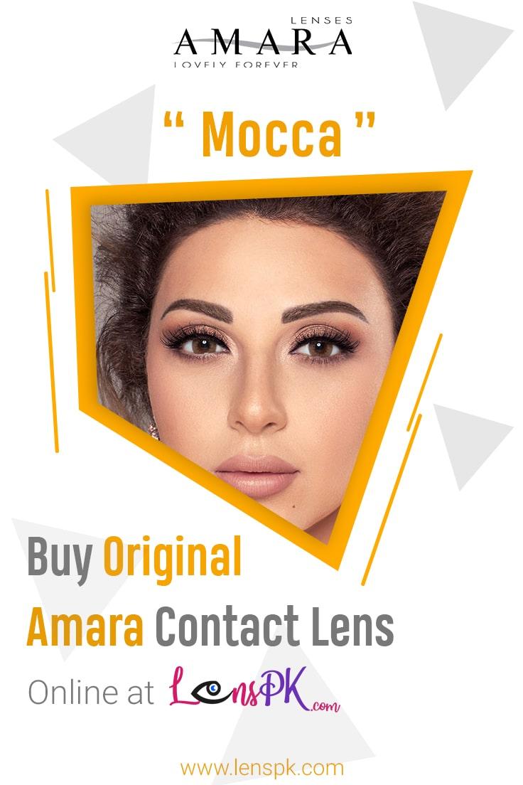 Amara Mocca Eye Contact Lenses