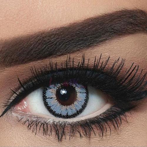 Bella Highlight Circle Grey Contact Lenses