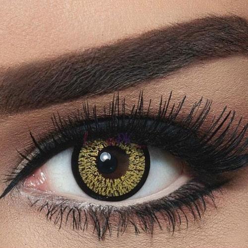 Bella Highlight Gold Contact Lenses