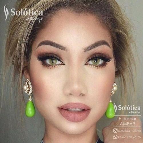 Buy Solotica Ambar Hidrocor Collection Eye Contact Lenses In Pakistan at Solotica.pk