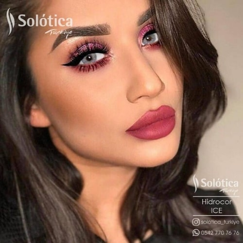 Buy Solotica ice Hidrocor Collection Eye Contact Lenses In Pakistan at Solotica.pk