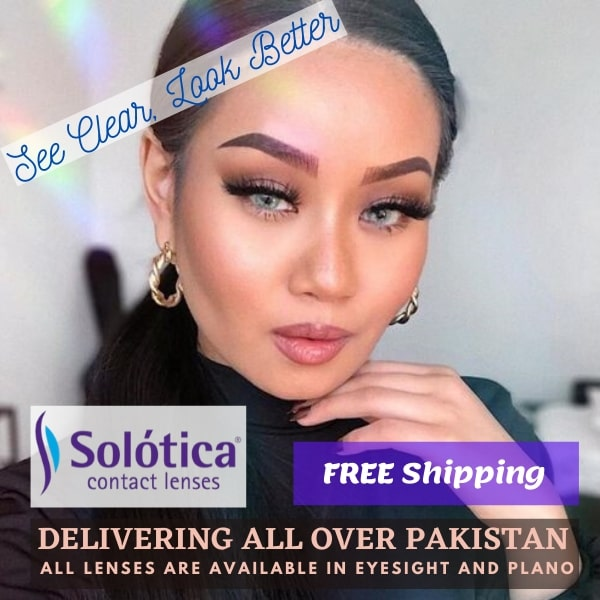 Buy Solotica Contact Lenses in Pakistan – Hidrocor | Hidrocor Monthly | Solflex Natural- Solotica.pk
